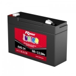 AGM Battery for Electric Toy Cars RDrive Junior EV6-14