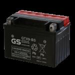 Мото аккумулятор GS GTX9-BS (Тайвань)