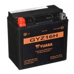 Мото аккумулятор YUASA GYZ16H (Япония)