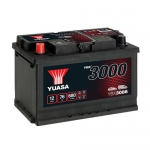 Аккумулятор YUASA YBX3086 (L3, 76 RU)-2019