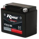 Аккумулятор RDRIVE eXtremal Silver YTX12-BS