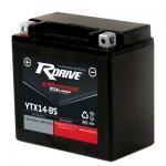 Аккумулятор RDRIVE eXtremal Silver YTX14-BS
