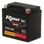 Аккумулятор RDRIVE eXtremal GOLD YTX5L (Nano GEL)-2020