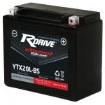 Аккумулятор RDRIVE eXtremal Silver YTX20L-BS