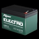 Гелевая батарея для электровелосипедов RDRIVE ELECTRO 6-DZM-12