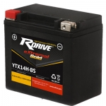 Аккумулятор RDRIVE eXtremal Gold YTX14H