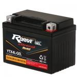 Аккумулятор RDRIVE eXtremal GOLD YTX4L (Nano GEL)